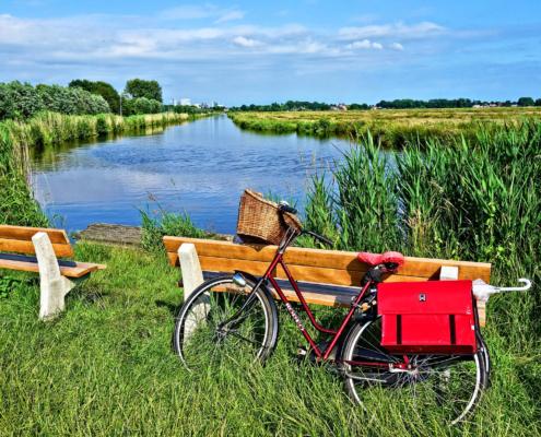 Rad fahren in Friesland